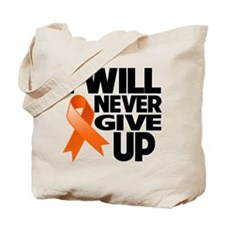 I Will Never Give Up COPD Tote Bag