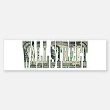 Wall Street Bumper Bumper Sticker