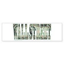 Wall Street Bumper Sticker