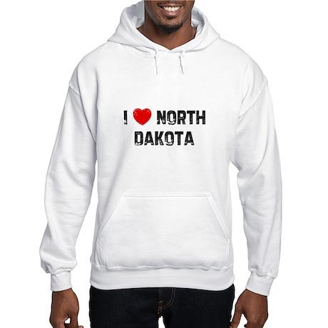 I * North Dakota Hooded Sweatshirt