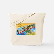 Providence Rhode Island Greetings Tote Bag