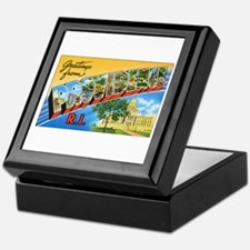 Providence Rhode Island Greetings Keepsake Box