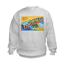 Providence Rhode Island Greetings (Front) Sweatshirt