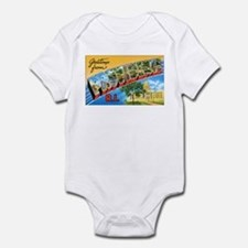 Providence Rhode Island Greetings Infant Bodysuit