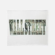 Wall Street Throw Blanket
