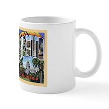Sacramento California Greetings Mug