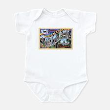 Sacramento California Greetings Infant Bodysuit