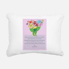 Encouragement Rectangular Canvas Pillow