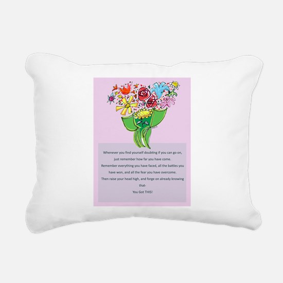 Encouragement Rectangular Canvas Pillow