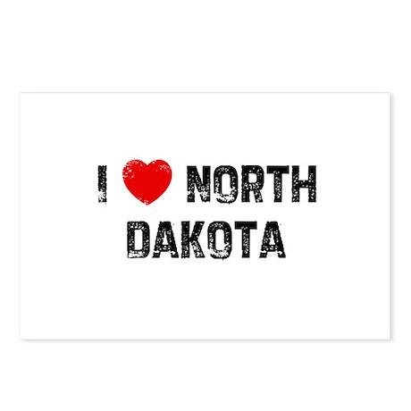 I * North Dakota Postcards (Package of 8)