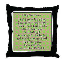 Hug from Home Throw Pillow
