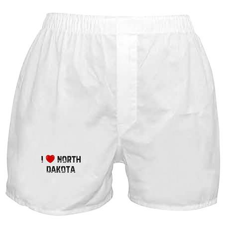 I * North Dakota Boxer Shorts