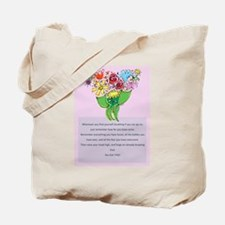 Encouragement Tote Bag