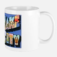 Salt Lake City Utah Greetings Mug