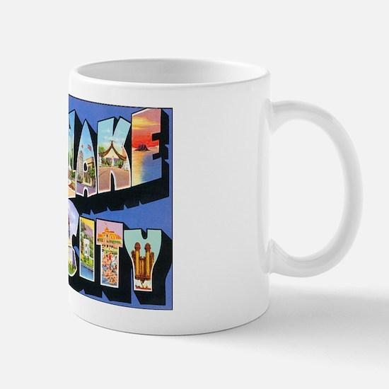 Salt Lake City Utah Greetings Mug