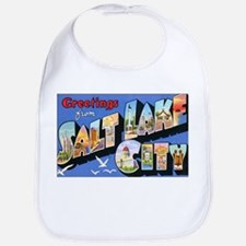 Salt Lake City Utah Greetings Bib