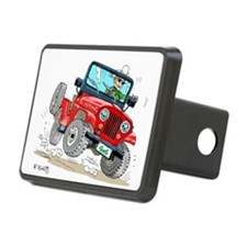 Willys-Kaiser CJ5 jeep Hitch Cover