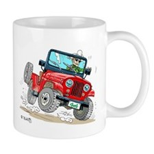 Willys-Kaiser CJ5 jeep Mug
