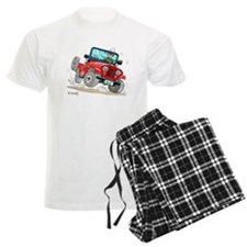 Willys-Kaiser CJ5 jeep Pajamas