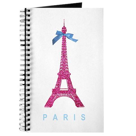 Pink Paris Eiffel Tower Journal