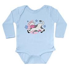 Cow Over Moon Baby Long Sleeve Infant Bodysuit