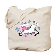 Cow Over Moon Baby Tote Bag