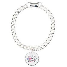 Cow Over Moon Baby Bracelet