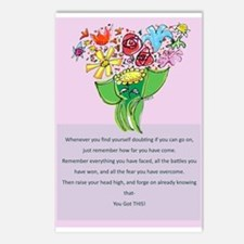 Encouragement Postcards (Package of 8)