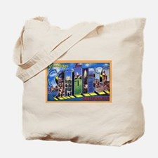 San Diego California Greetings Tote Bag