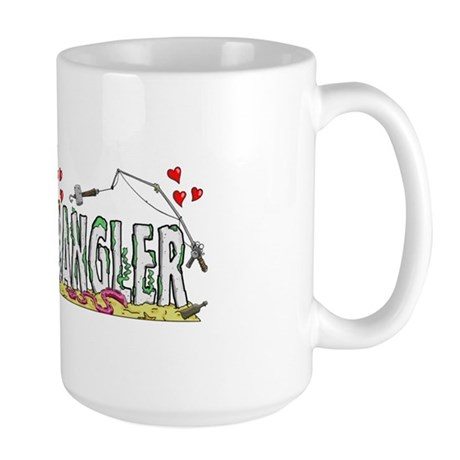 Fish Wrangler - Official Logo Large Mug