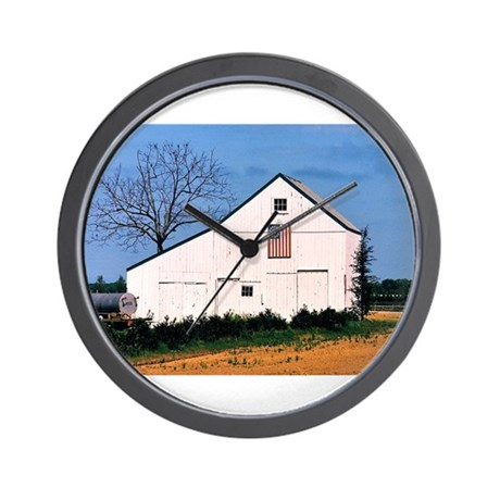 American Barns No. 2 Wall Clock