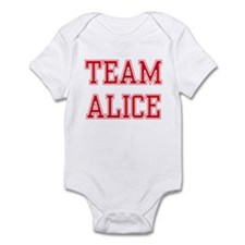 TEAM ALICE  Infant Bodysuit