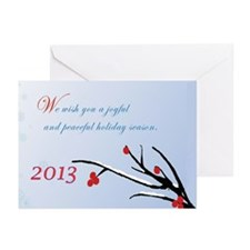 Joyful Season 2 Greeting Cards (Pk Of 10)