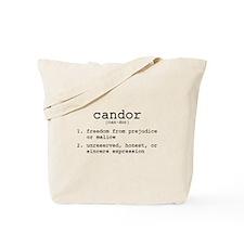 Candor Definition Tote Bag