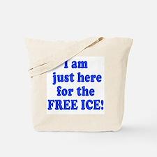 Free Ice Tote Bag