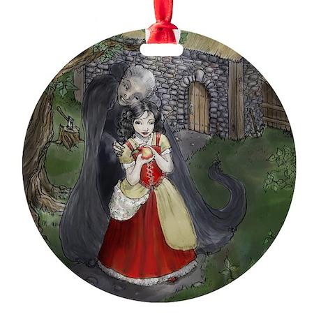 Snow White Round Ornament