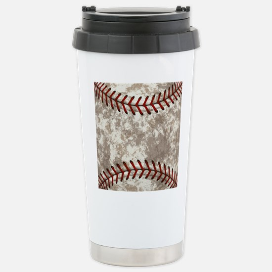 Baseball Vintage Travel Mug