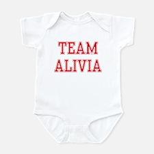 TEAM ALIVIA  Infant Bodysuit