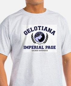 Gelotiana Imperial Page Ash Grey T-Shirt