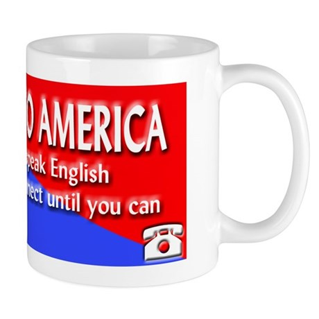 Welcome to America - English Spoken Here