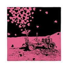 Pink Lunar Rover Of Love Queen Duvet