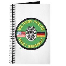 U S Military Police West Germany Journal