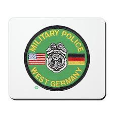 U S Military Police West Germany Mousepad