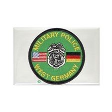 U S Military Police West Germany Rectangle Magnet