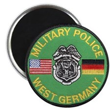 "U S Military Police West Germany 2.25"" Magnet (100"