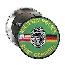 "U S Military Police West Germany 2.25"" Button"