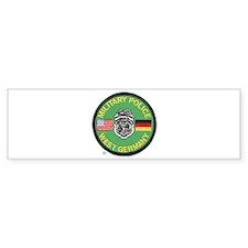 U S Military Police West Germany Bumper Sticker
