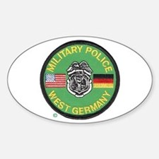 U S Military Police West Germany Decal