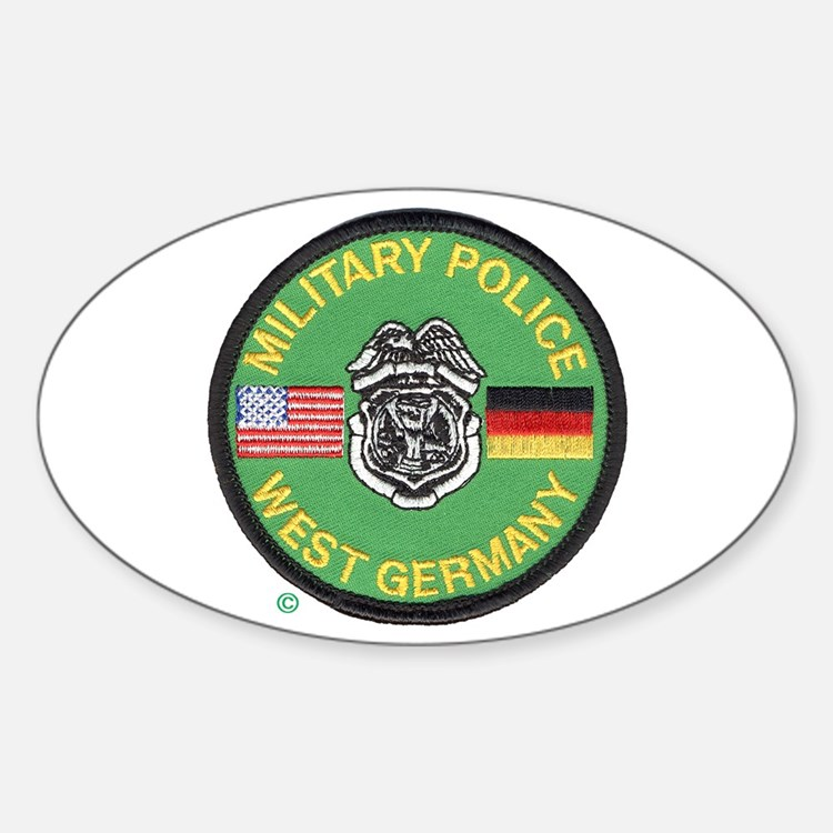 U S Military Police West Germany Decal
