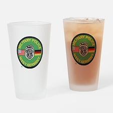 U S Military Police West Germany Drinking Glass